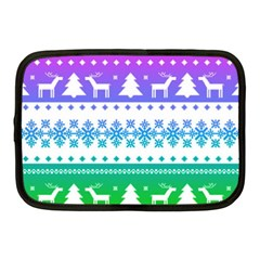 Cute Rainbow Bohemian Netbook Case (medium)