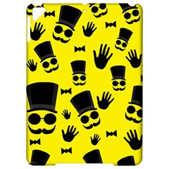 Gentlemen   Yellow Pattern Apple Ipad Pro 9 7   Hardshell Case