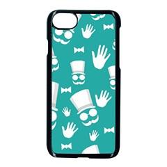 Gentleman Pattern Apple Iphone 7 Seamless Case (black)