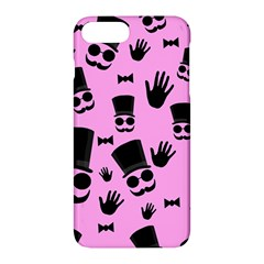 Gentleman   Pink Pattern Apple Iphone 7 Plus Hardshell Case