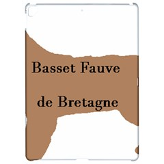 Basset Fauve De Bretagne Color Name Silhouette Apple iPad Pro 12.9   Hardshell Case