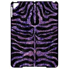 Skin2 Black Marble & Purple Marble Apple Ipad Pro 9 7   Hardshell Case