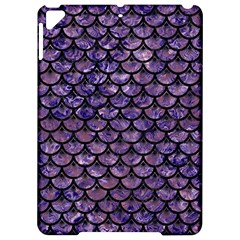 Scales3 Black Marble & Purple Marble (r) Apple Ipad Pro 9 7   Hardshell Case