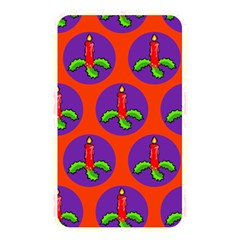 Christmas Candles Seamless Pattern Memory Card Reader