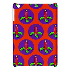 Christmas Candles Seamless Pattern Apple Ipad Mini Hardshell Case