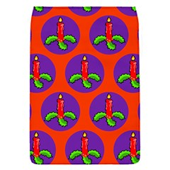 Christmas Candles Seamless Pattern Flap Covers (s)