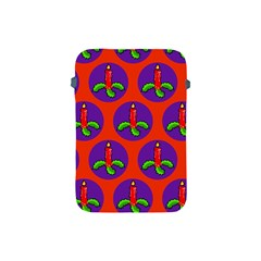 Christmas Candles Seamless Pattern Apple Ipad Mini Protective Soft Cases
