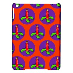 Christmas Candles Seamless Pattern Ipad Air Hardshell Cases