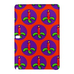 Christmas Candles Seamless Pattern Samsung Galaxy Tab Pro 10 1 Hardshell Case