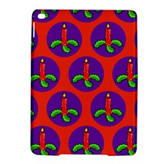 Christmas Candles Seamless Pattern Ipad Air 2 Hardshell Cases