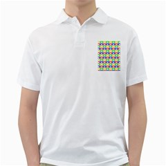 Colorful Curtains Seamless Pattern Golf Shirts