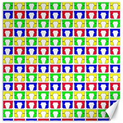 Colorful Curtains Seamless Pattern Canvas 20  X 20
