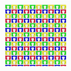 Colorful Curtains Seamless Pattern Medium Glasses Cloth