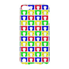 Colorful Curtains Seamless Pattern Apple Ipod Touch 5 Hardshell Case