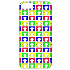 Colorful Curtains Seamless Pattern Apple Iphone 5 Classic Hardshell Case