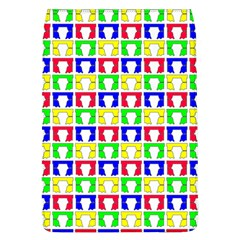 Colorful Curtains Seamless Pattern Flap Covers (l)