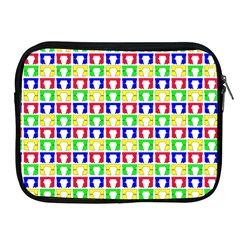 Colorful Curtains Seamless Pattern Apple Ipad 2/3/4 Zipper Cases