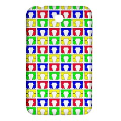 Colorful Curtains Seamless Pattern Samsung Galaxy Tab 3 (7 ) P3200 Hardshell Case