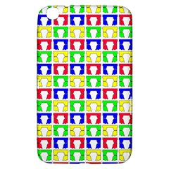 Colorful Curtains Seamless Pattern Samsung Galaxy Tab 3 (8 ) T3100 Hardshell Case