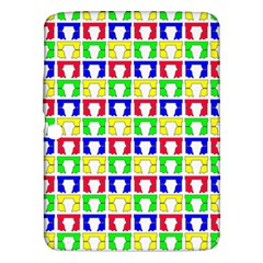 Colorful Curtains Seamless Pattern Samsung Galaxy Tab 3 (10 1 ) P5200 Hardshell Case