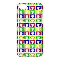 Colorful Curtains Seamless Pattern Apple Iphone 5c Hardshell Case