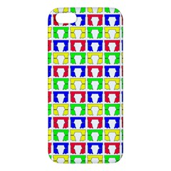 Colorful Curtains Seamless Pattern Iphone 5s/ Se Premium Hardshell Case