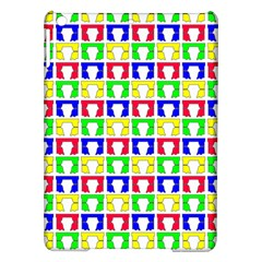 Colorful Curtains Seamless Pattern Ipad Air Hardshell Cases
