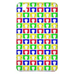Colorful Curtains Seamless Pattern Samsung Galaxy Tab Pro 8 4 Hardshell Case