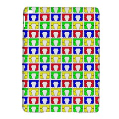 Colorful Curtains Seamless Pattern iPad Air 2 Hardshell Cases