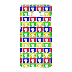 Colorful Curtains Seamless Pattern Samsung Galaxy A5 Hardshell Case