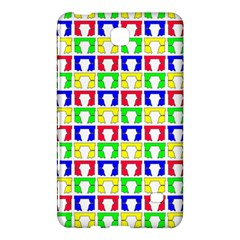 Colorful Curtains Seamless Pattern Samsung Galaxy Tab 4 (7 ) Hardshell Case