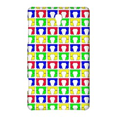 Colorful Curtains Seamless Pattern Samsung Galaxy Tab S (8 4 ) Hardshell Case