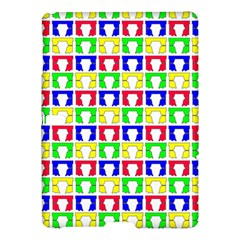 Colorful Curtains Seamless Pattern Samsung Galaxy Tab S (10.5 ) Hardshell Case
