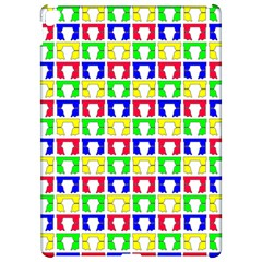 Colorful Curtains Seamless Pattern Apple Ipad Pro 12 9   Hardshell Case