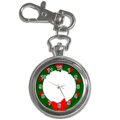 Holiday Wreath Key Chain Watches