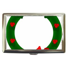 Holiday Wreath Cigarette Money Cases