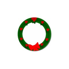 Holiday Wreath Golf Ball Marker (10 Pack)