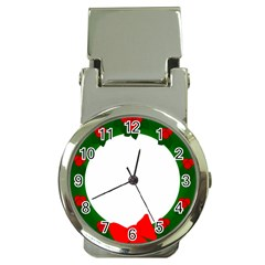 Holiday Wreath Money Clip Watches