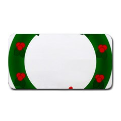 Holiday Wreath Medium Bar Mats