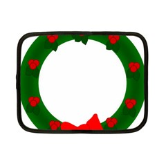 Holiday Wreath Netbook Case (small)