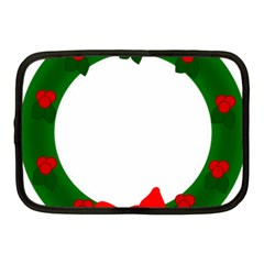 Holiday Wreath Netbook Case (Medium)