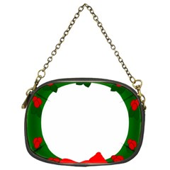 Holiday Wreath Chain Purses (one Side)