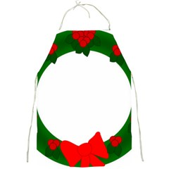 Holiday Wreath Full Print Aprons