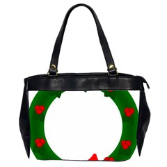 Holiday Wreath Office Handbags (2 Sides)