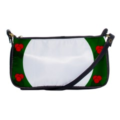 Holiday Wreath Shoulder Clutch Bags