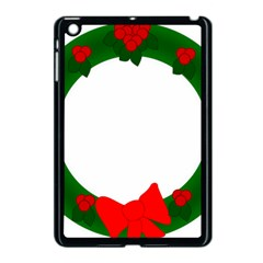 Holiday Wreath Apple Ipad Mini Case (black)