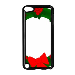 Holiday Wreath Apple Ipod Touch 5 Case (black)