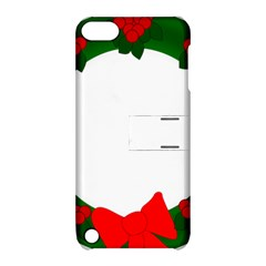 Holiday Wreath Apple Ipod Touch 5 Hardshell Case With Stand