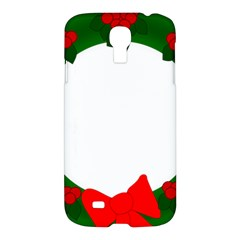 Holiday Wreath Samsung Galaxy S4 I9500/i9505 Hardshell Case