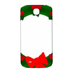 Holiday Wreath Samsung Galaxy S4 I9500/i9505  Hardshell Back Case